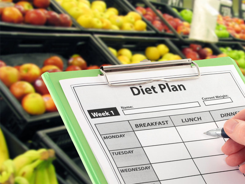 Picture of diet plan