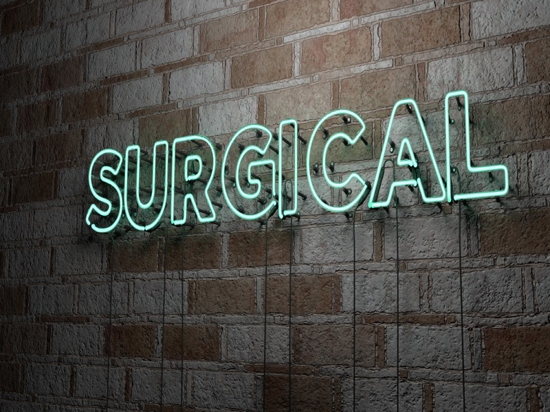 Picture of surgical sign