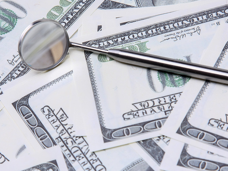 Money in dentistry picture