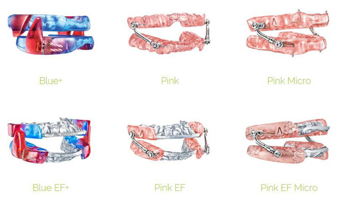 Respire EF model - oral appliance picture.