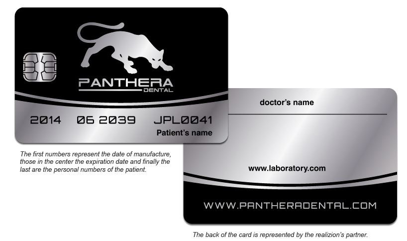 Panthera oral appliance 5 year warranty card picture